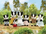 Sylvanian Celebration Badger Family