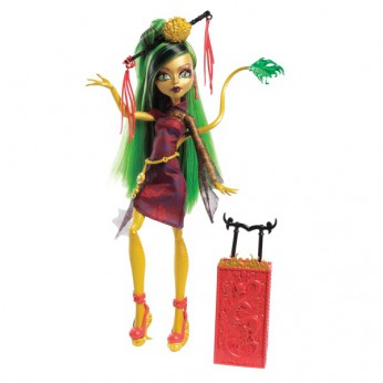 Monster High Scaris Deluxe Doll Jinafire Long reviews