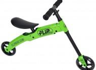 Flip balance bike Green