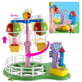 Peppa Pig Deluxe Balloon Ride Playset reviews