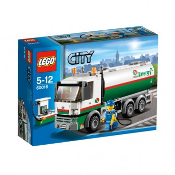 LEGO City Town Tanker Truck 60016 reviews