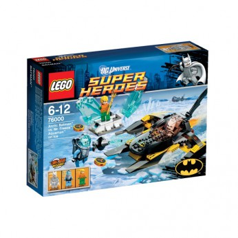 LEGO Arctic Batman vs Mr Freeze Aq 76000 reviews