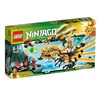 LEGO Ninjago The Golden Dragon 70503 reviews