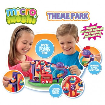 Micro Moshi Theme Park Playset