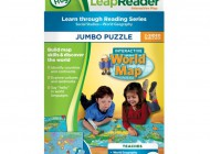 Tag World Map Puzzle
