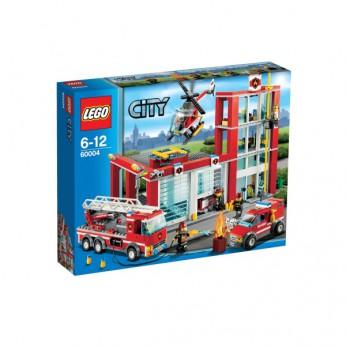 LEGO City Fire Station 60004 reviews