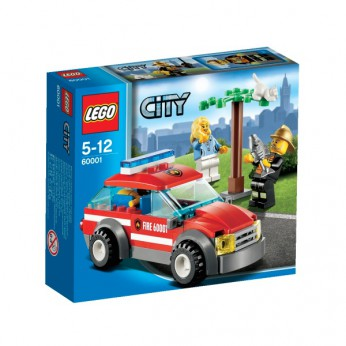LEGO City Fire Chief Car 60001 reviews