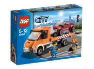LEGO City Town Flatbed Truck 60017