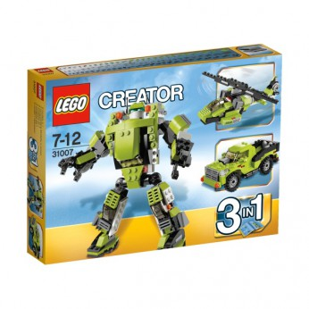 LEGO Creator Power Mech 31007 reviews