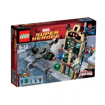 LEGO Spider-Man Daily Bugle Showdown 76005 reviews