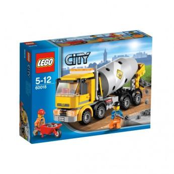 LEGO City Town Cement Mixer 60018 reviews