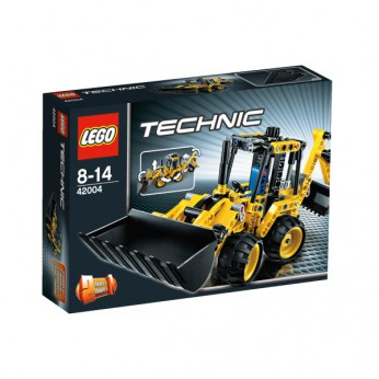 LEGO Technic Mini Backhoe Loader 42004 reviews