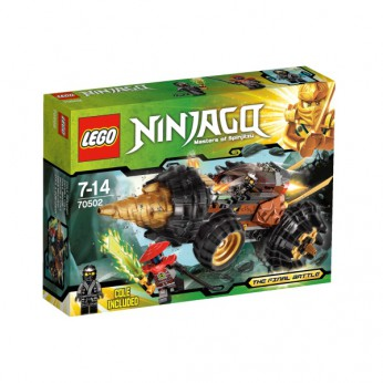 LEGO Ninjago Coles Earth Driller 70502 reviews