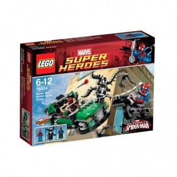 LEGO Spider-Man Spider-Cycle Chase 76004 reviews