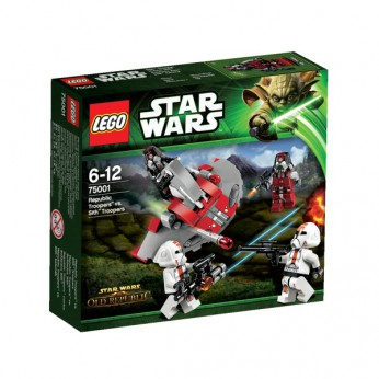 LEGO Republic Troopers vs SithTroope 75001 reviews