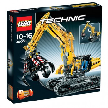 LEGO Technic Excavator 42006 reviews