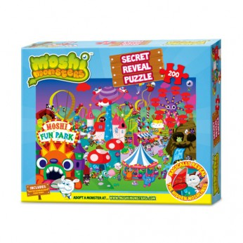 Moshi Monsters Secret Reveal Puzzle reviews