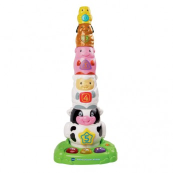 VTech Baby Stack and Discover Animals reviews
