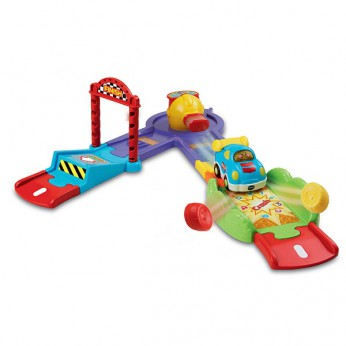VTech Toot-Toot Deluxe Jump Track Launcher reviews