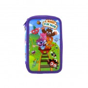 Moshi Monsters Fun Park Double Tier Pencil Case