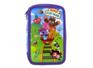 Moshi Monsters Fun Park Double Tier Pencil Case