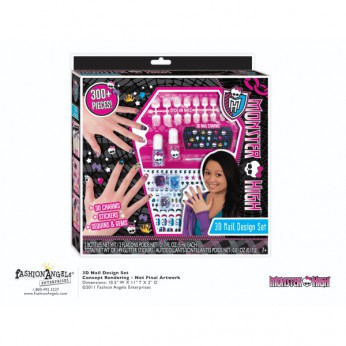 Monster High 3D Nail Design Set reviews