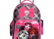 Monster High Bow Trolley Backpack Bow