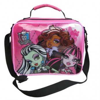 Monster High Lunch Bag with Bow reviews