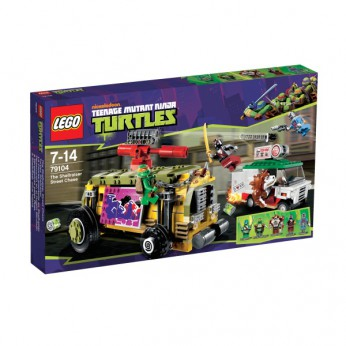 LEGO Turtles The Shellraiser Street Chase 79104 reviews