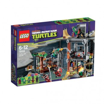 LEGO Turtles Turtle Lair Attack 79103 reviews