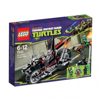 LEGO Turtles Shredder's Dragon Bike 79101 reviews