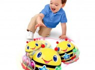 Having a Ball Roll and Chase Bumble Bee