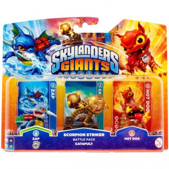 Skylanders Giants: Scorpion Striker Battle Pack reviews
