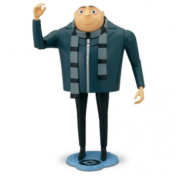 Despicable Me 2 Gru The Talking Genius Figure reviews