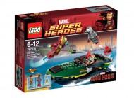 LEGO Iron Man Extremis Sea Port Battle 76006
