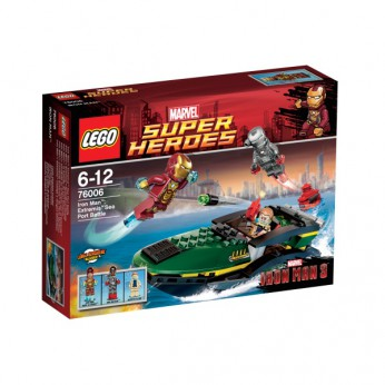 LEGO Iron Man Extremis Sea Port Battle 76006 reviews