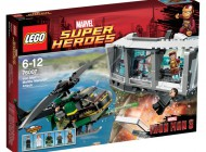 LEGO Iron Man Malibu Mansion Attack 76007