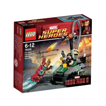 LEGO Iron Man The Mandarin Ultimate 76008 reviews