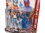 WWE Series 22 2-Pack Sin Cara and Rey Mysterio