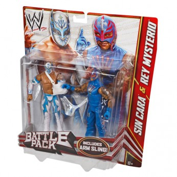 WWE Series 22 2-Pack Sin Cara and Rey Mysterio reviews
