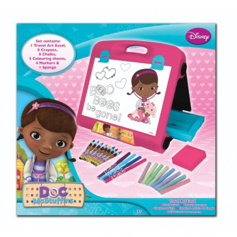 Doc McStuffins Travel Art Easel reviews