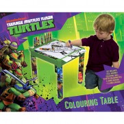 Turtles Colouring Table