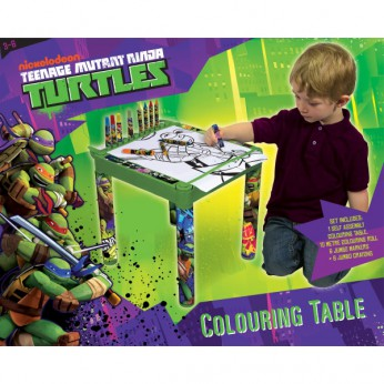 Turtles Colouring Table reviews