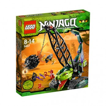 LEGO Ninjago Fangpyre Wrecking Ball 9457 reviews