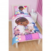Doc McStuffins Single Panel Duvet Set