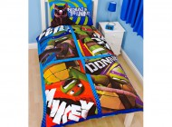 Turtles Dudes Single Panel Single Duvet Set