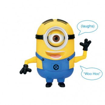 Despicable Me 2 20cm Talking Minion Stuart reviews