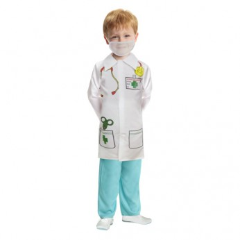 Doctor Coat With Mesh Mask