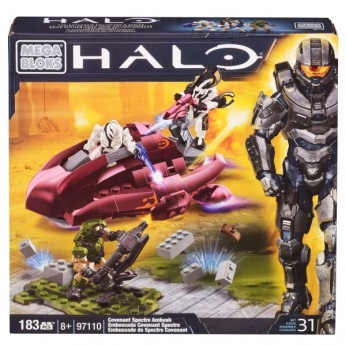 Mega Bloks Halo Covenant Spectre Ambush reviews