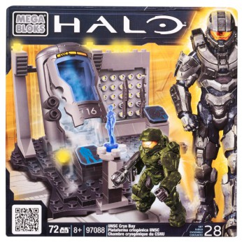 Mega Bloks Halo UNSC Cryo Bay reviews